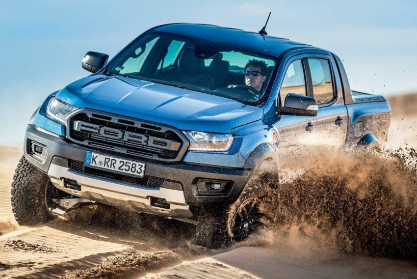 ford ranger 2021 em estrada off-road