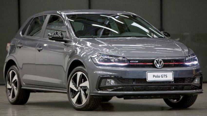 Volkswagen Polo GTS 2020 visto desde a dianteira