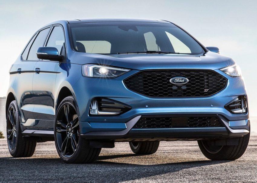 Ford Edge 2019 ST visto desde a dianteira