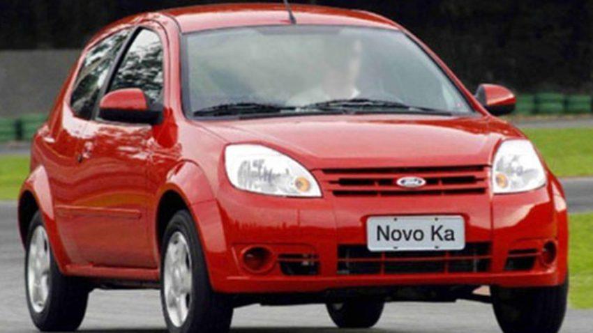Ford Ka 2010 vermelho