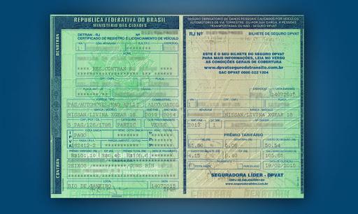 documento para transferencia de veiculo