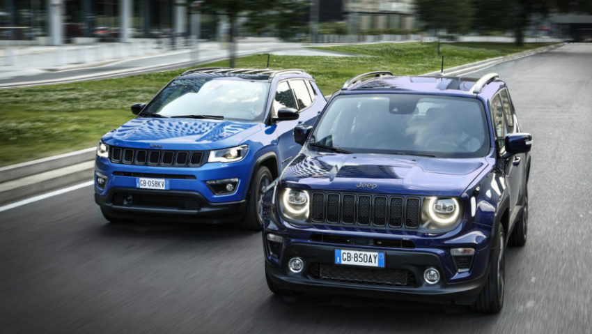 Jeep Renegade e Jeep Compass
