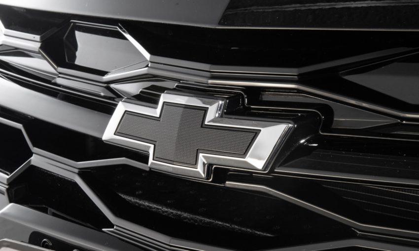 Logo da Chevrolet no Onix Plus